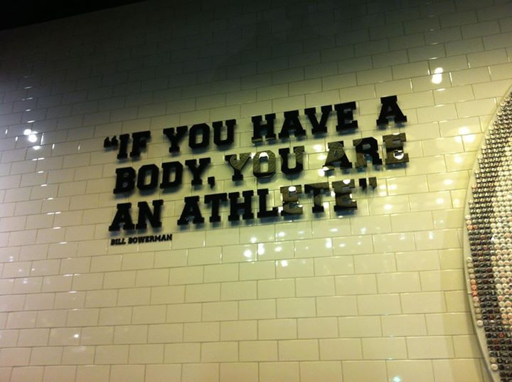 Fra Nike Store, Fifth Avenue, NYC